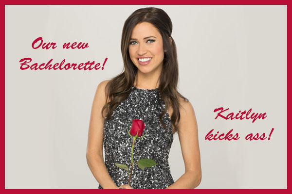 Kaitlyn is the new Bachelorette.