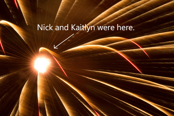 Nick and Kaitlyn's Big Bang