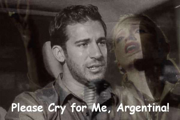Don't cry for Derek, Argentina.