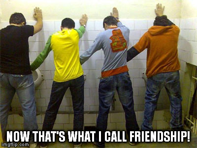 Now that's what I call friendship!