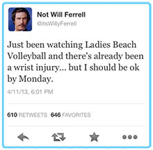 will_ferrell_beach_volleyball_tweet