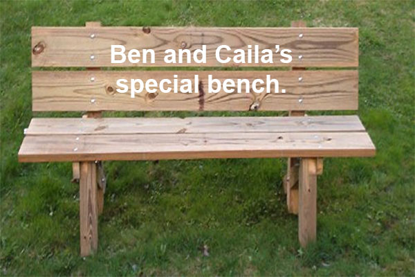 Ben and Caila's special bnch