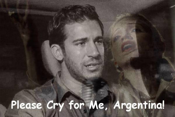 Don't cry for Derek, Argentina.