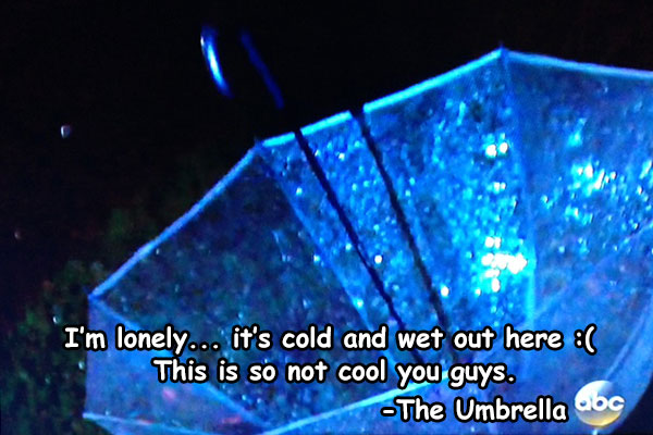 The Umbrella that time forgot